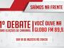 Globo FM realiza primeiro debate das eleições de Caruaru nesta quinta (18)
