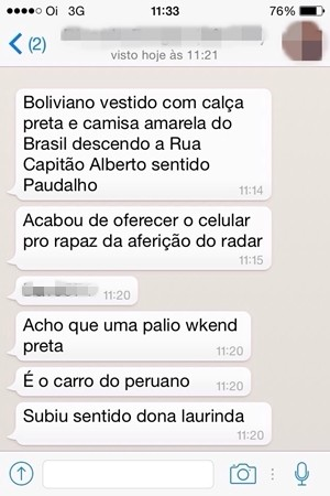 Polícia de Guararema consegue prender suspeitos com a ajuda do Whats App. (Foto: Reprodução/Whats App)