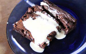 Brownie de chocolate simples e fácil de fazer