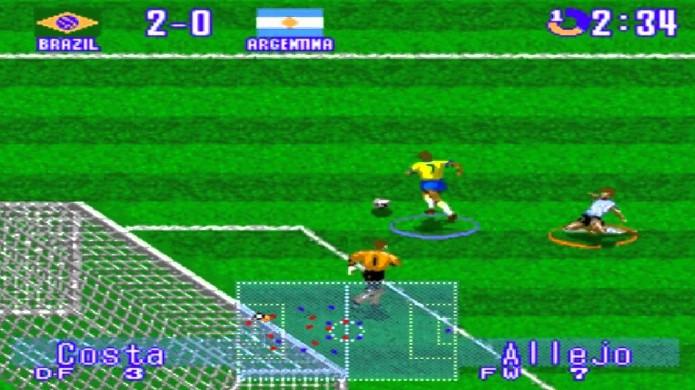 Houve um tempo em que International Superstar Soccer Deluxe do Super Nintendo era o ápice do esporte e sucesso das locadoras (Foto: Reprodução/YouTube)