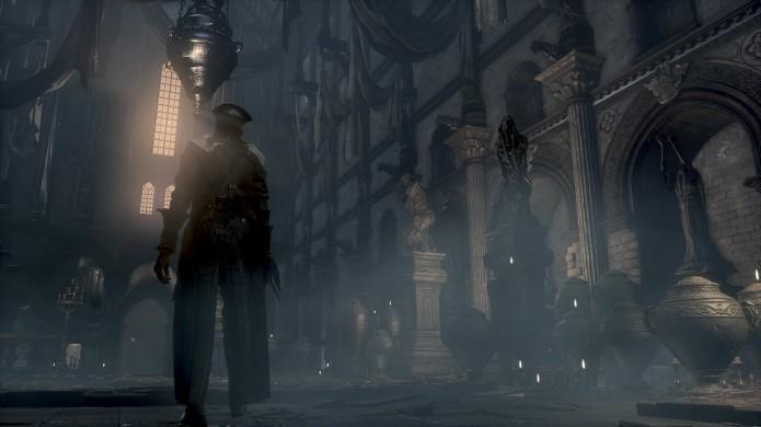 Bloodborne é mais um título punitivo da From Software (Foto: Reprodução/Victor Teixeira)