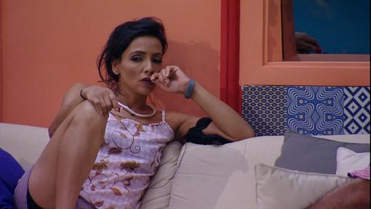 Marinalva lembra discussão com Emilly: 'Falou que eu usei a mãe dela para desequilibrar'
