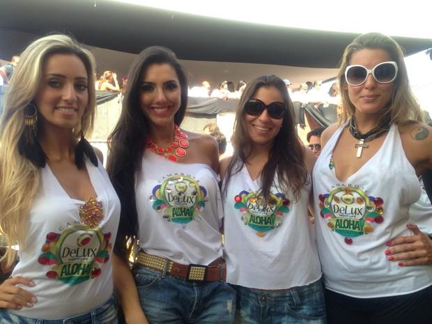 Mariana Fusco, Kelly Baron, Kellen Alves e Luhanna Melloni (Foto: Divulgação)