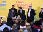 Ministro da Saúde visita centro para dependentes químicos no Rio