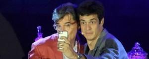 Com Paulo Betti, Mateus Solano encarna Félix (Alex Palarea / AgNews)