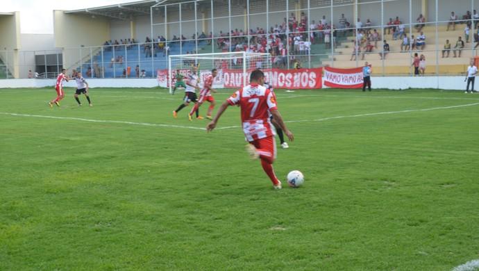 Santa Cruz-PB x Auto Esporte - Estádio da Graça (Foto: Amauri Aquino / GloboEsporte.com/pb)