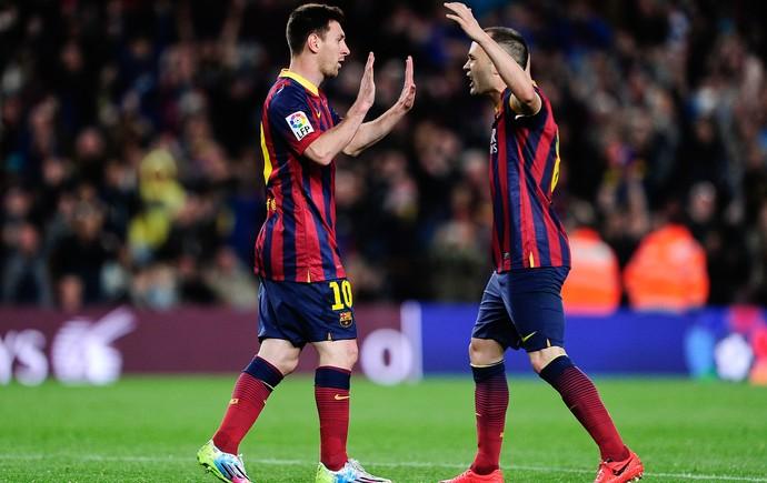 Messi Barcelona  (Foto: AFP)