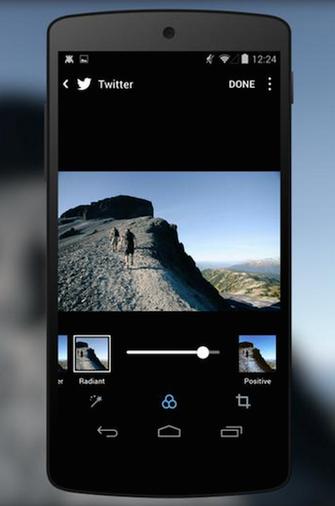 App do Twitter lança filtros com interface igual ao Instagram (Foto: Divulgação/Twitter) (Foto: App do Twitter lança filtros com interface igual ao Instagram (Foto: Divulgação/Twitter))