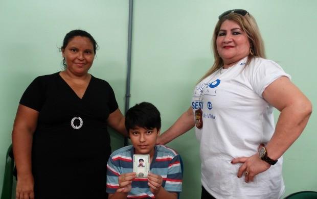 Um atendimento especial foi dado a portadores de deficiências e necessidades especiais (Foto: Onofre Martins/Rede Amazônica)
