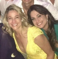 Fernanda e a namorada (Foto: Reprodução/ Instagram)