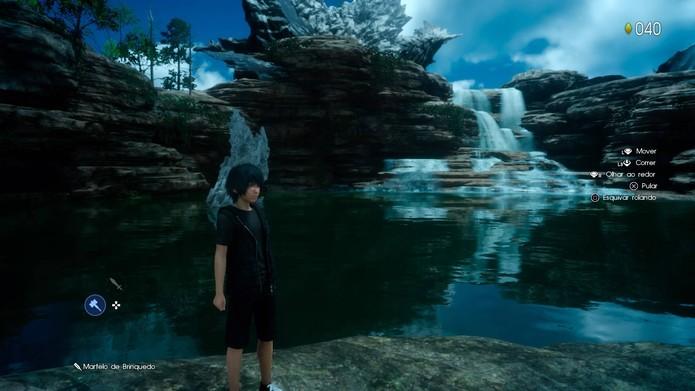 Confira detalhes da nova demo de Final Fantasy 15 (Foto: Reprodução/Felipe Vinha)
