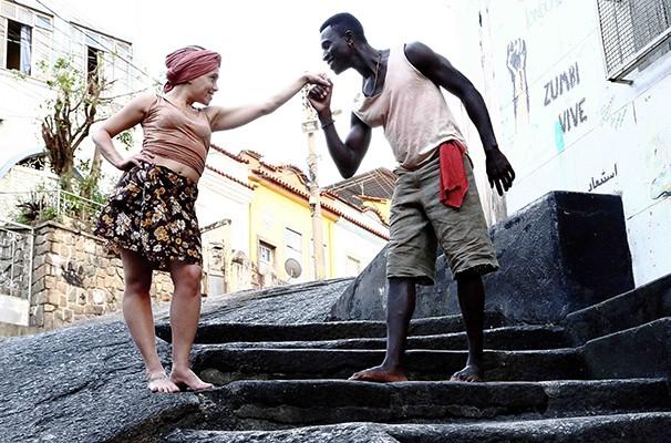Marissa Francisca e Welket Bungué vivem Dona Mulata e Triunfo (Foto: Divulgação)