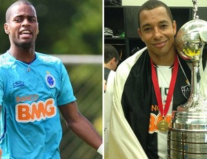 Dedé; Cruzeiro; Gilberto Silva; Atlético-MG (Foto: Globoesporte.com)