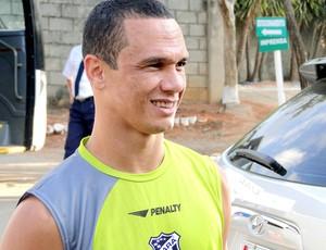 Wellington Amorim ceará treino (Foto: Fernando Martins Y Miguel / Globoesporte.com)