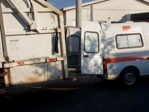 Prefeitura de Nova Odessa é investigada por descarte irregular de lixo hospitalar (Foto: Polícia Militar Ambiental de Americana)