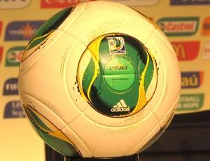 Bola Cafusa, copa das Confederações (Foto: Márcio Iannacca / Globoesporte.com)