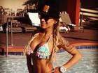 Ex-BBB Vanessa Mesquita nega affair com personal trainer: 'Somos amigos'