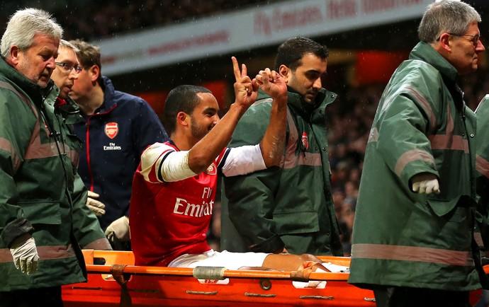 Theo Walcott Arsenal provocação (Foto: Getty Images)