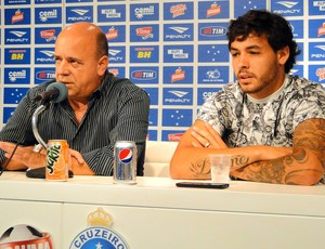 Valdir Barbosa e Ricardo Goulart, no Cruzeiro (Foto: Marco Astoni)