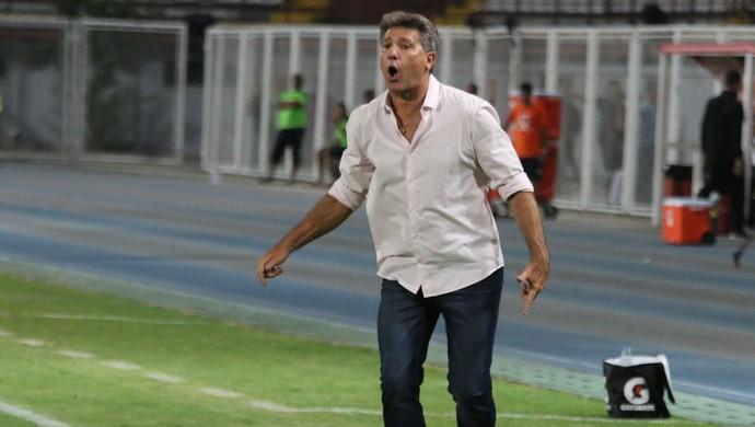 renato portaluppi Grêmio Zamora Libertadores (Foto: Eduardo Moura/GloboEsporte.com)