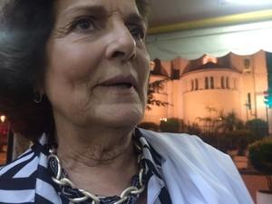 Fiel estava na igreja durante a ação (Foto: Daniel Silveira/G1)