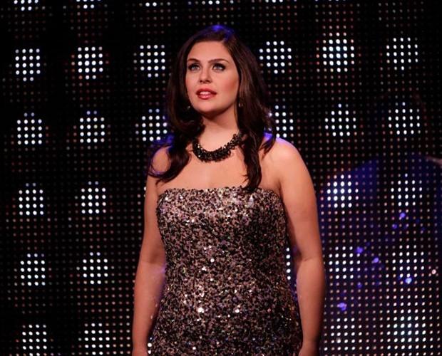 Livia no reality show gravado em Nova Iorque (Foto: Arquivo Pessoal)