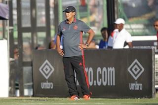 Muricy Ramalho no Vasco x Flamengo (Foto:  Gilvan de Souza/site oficial do Flamengo)