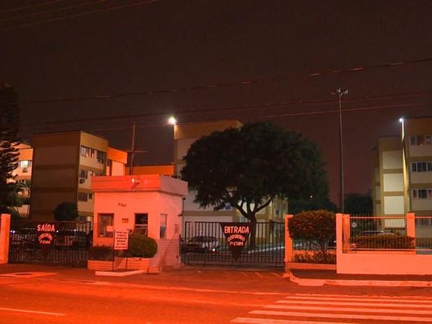 Sétima etapa de condomínio em Coqueiral de Itaparica, onde o tráfico era praticado (Foto: Reprodução/ TV Gazeta)