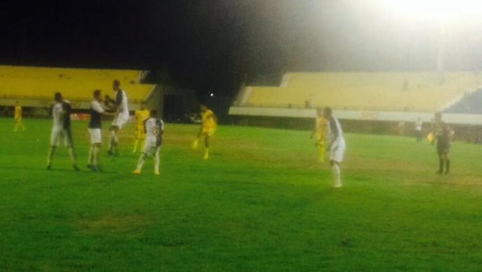 Interporto vence o Ricanato por 1 a 0 (Foto: Edson Reis/GloboEsporte.com)