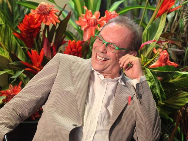 O ator José Wilker participa da Flip 2013, Festa Literária Internacional da cidade de Paraty (RJ) (Foto: Luciana Serra/Futura Press)