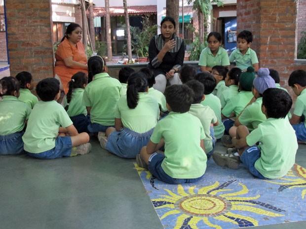 Escola da Índia, Riverside (Foto: Divulgação)