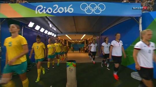 Em jogo de golaços, Alemanha busca empate com a Austrália no fim