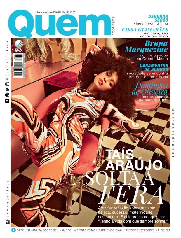 Taís Araújo é capa da QUEM (Foto: Fernando Tomaz/ Monster Photo)