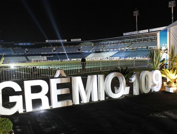 Banquete de aniversário do Grêmio, com lançamento de livro  (Foto: Diego Guichard/GLOBOESPORTE.COM)