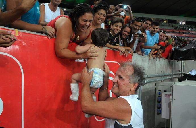 Zico - Jogo das Estrelas (Foto: Alexandre Durão / GloboEsporte.com)