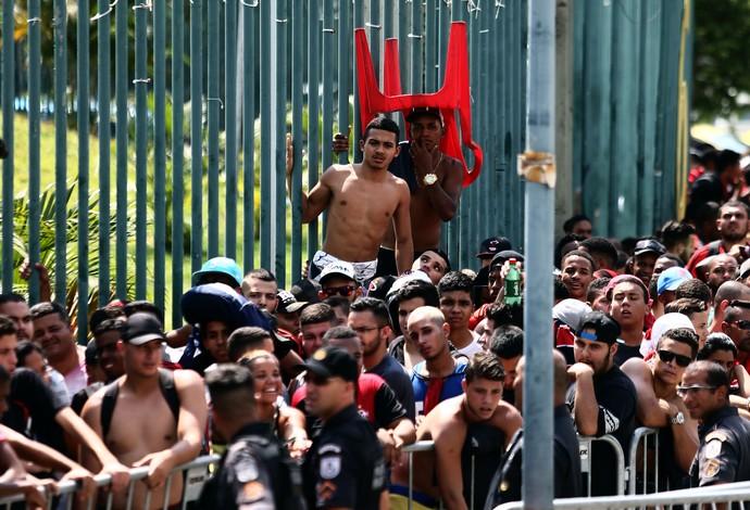 fila flamengo corinthians (Foto: Fábio Motta / Agência Estado)