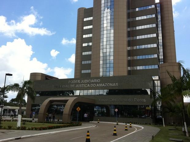 Julgamento foi realizado nesta terça-feira (22) no Tribunal de Justiça do Amazonas. (Foto: Graziela Maia/G1)