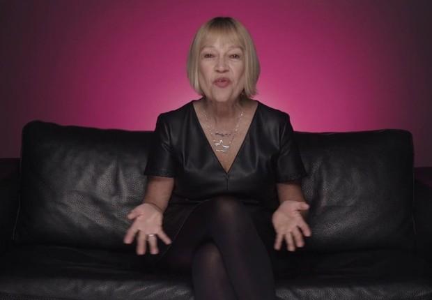A inglesa Cindy Gallop  (Foto: Divulgação/YouTube)
