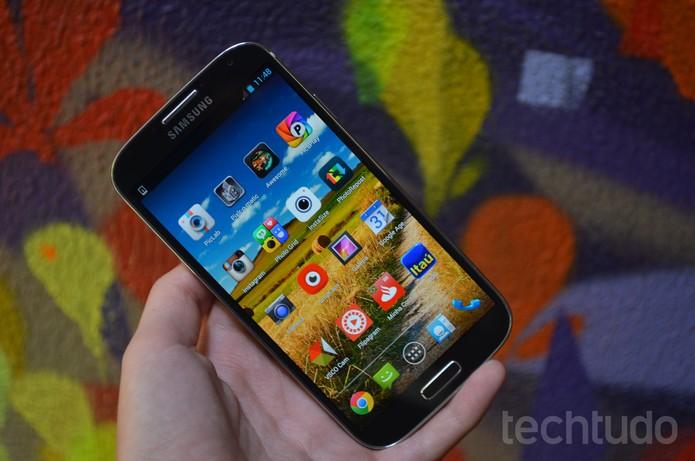 Galaxy S4 (Foto: Luciana Maline/TechTudo)