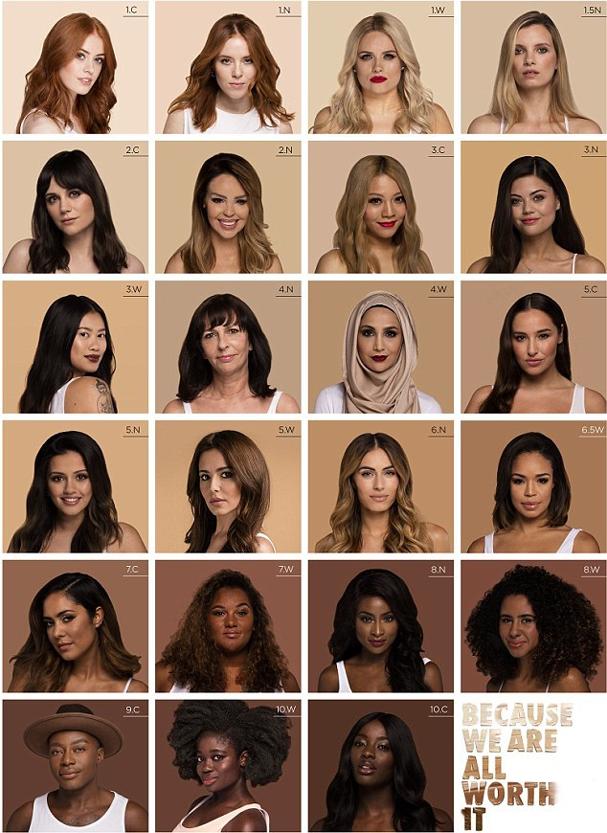 A campanha de beleza #Yourstruly une 23 influenciadores ingleses (Foto: Divulgação)