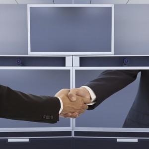 Telepresença posiciona empresas e gera mais agilidade e economia em tomadas de decisão (iStock)