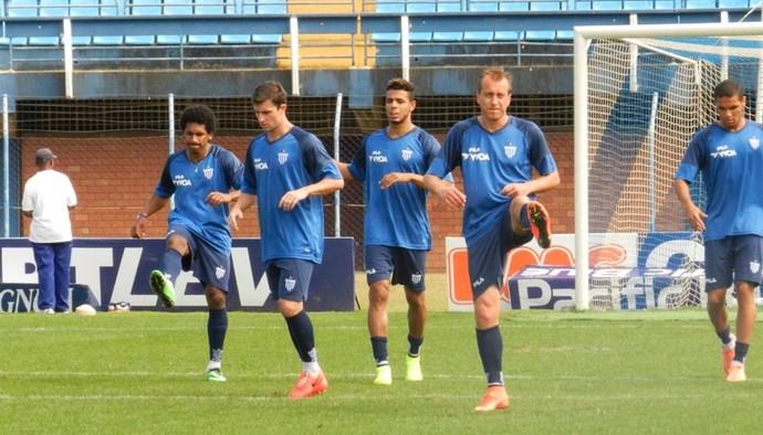 Avaí treino Marquinhos (Foto: André Palma Ribeiro/Avaí F. C.)