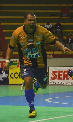 Fabinho; real moitense; superliga (Foto: João Áquila / GLOBOESPORTE.COM)