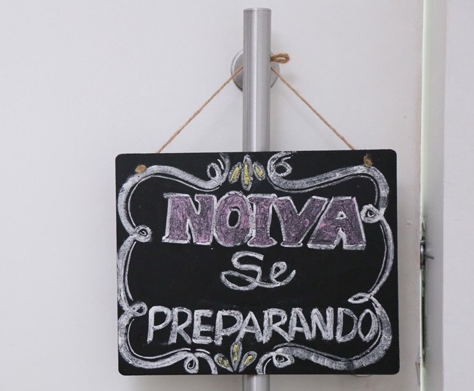 A modelo quer ajudar outras noivas desesperadas com o seu blog  (Foto: Isabella Pinheiro / Gshow)