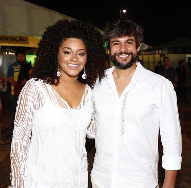 Juliana Alves e o marido, Ernani Nunes (Foto: Ricardo Cardoso / Ed. Globo)