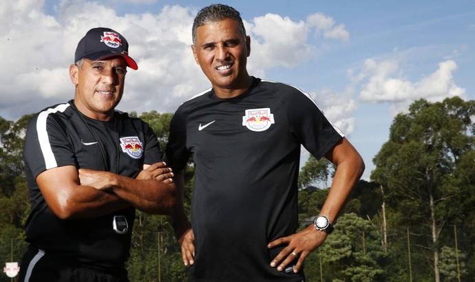 Silas Treinador Técnico Paulo Pereira Auxiliar RB Brasil Toro Loko (Foto: Red Bull Brasil / Media Manager)