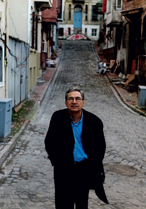 O escritor turco Orthan Pamuk (Foto: Ayman Oghanna/The New York Times)