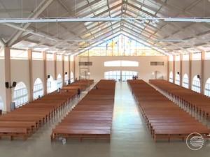 Novo Santuário de Santa Cruz dos Milagres (Foto: Reprodução/TV Clube)