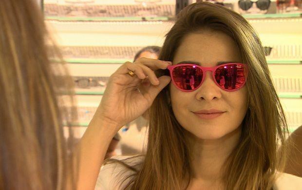 Programa dá dicas para escolha de óculos (Foto: Amazônia Revista)