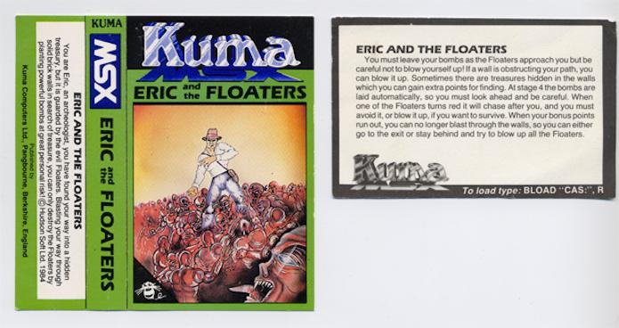 O game que inspirou Bomberman se chamava Eric and the Floaters na Europa (Foto: Reprodução/mentalfloss.com)